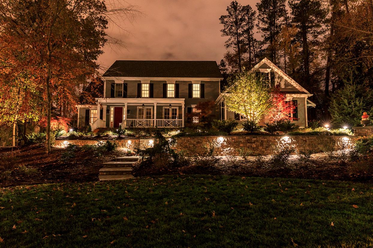 Landscape Lighting Kiefer Landscaping